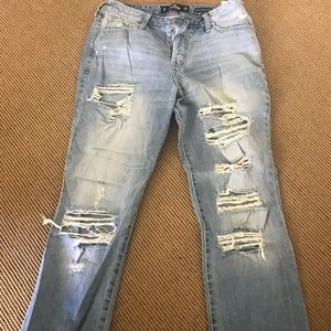 Hollister high-rise vintage straight jeans